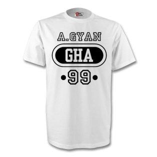 Michael Essien Ghana Gha T-shirt (white)
