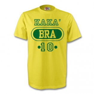 Kaka Brazil Bra T-shirt (yellow)