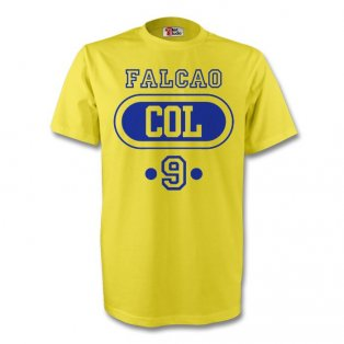 James Rodriguez Colombia Col T-shirt (yellow) - Kids