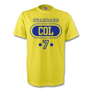 Freddy Guarin Colombia Col T-shirt (yellow) - Kids