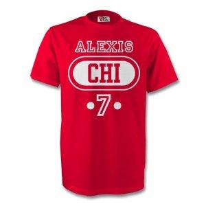 Alexis Sanchez Chile Chi T-shirt (red)