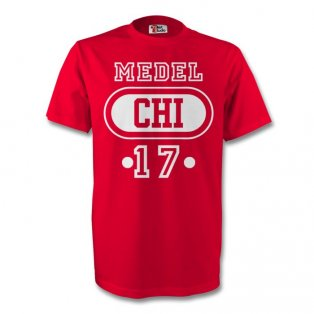 Gary Medel Chile Chi T-shirt (red)