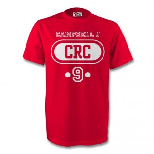 Joel Campbell Costa Rica Crc T-shirt (red)