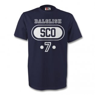 Kenny Dalglish Scotland Sco T-shirt (navy)