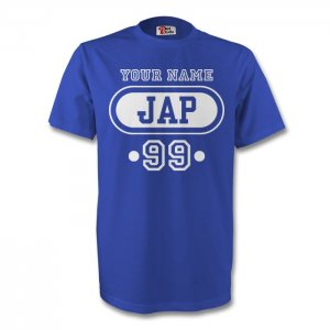 Japan Jap T-shirt (blue) + Your Name (kids)