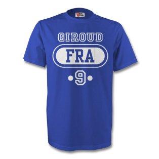 Olivier Giroud France Fra T-shirt (blue) - Kids