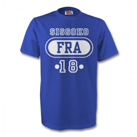 Moussa Sissoko France Fra T-shirt (blue) - Kids