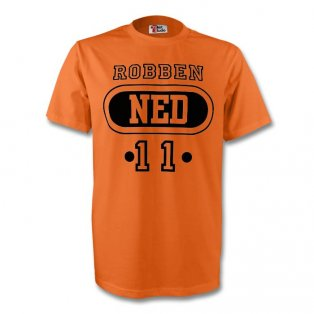 Arjen Robben Holland Ned T-shirt (orange)