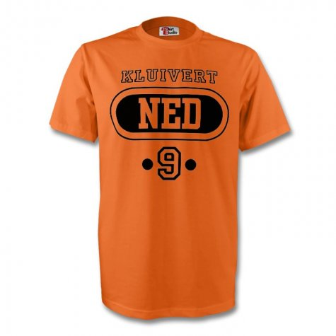 Patrick Kluivert Holland Ned T-shirt (orange)