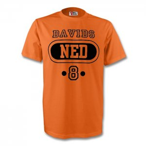 Edgar Davids Holland Ned T-shirt (orange)