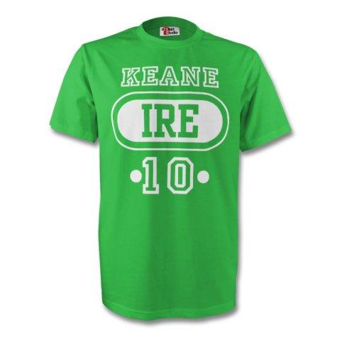 Robbie Keane Ireland Ire T-shirt (green)
