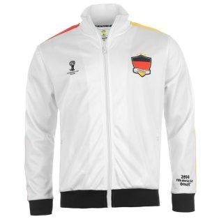 Germany 2014 FIFA Track Jacket (White)