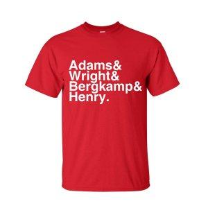Arsenal Football Legends T-shirt (red)