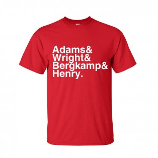 Arsenal Football Legends T-shirt (red)