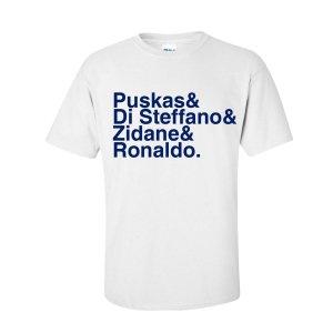 Real Madrid Football Legends T-shirt (white)