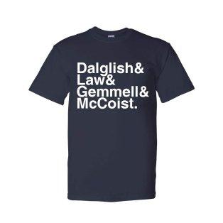 Scotland Football Legends T-shirt (navy)