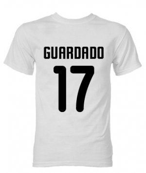 Andres Guardado Valencia Hero T-Shirt (White)