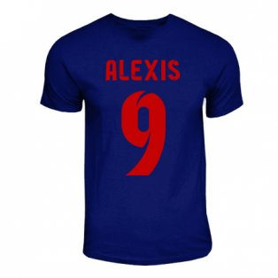 Alexis Sanchez Barcelona Hero T-shirt (navy)
