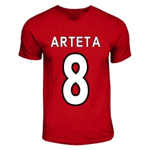 Mikel Arteta Arsenal Hero T-shirt (red)