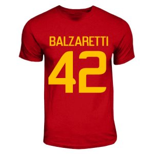 Federico Balzretti Roma Hero T-shirt (red)