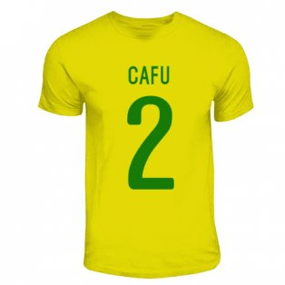 Cafu Brazil Hero T-shirt (yellow)