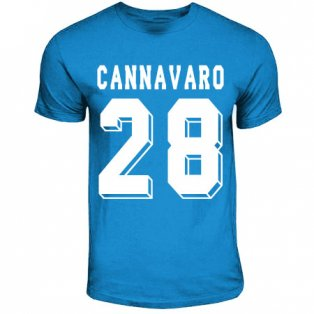 Paolo Cannavaro Napoli Hero T-shirt (sky Blue)