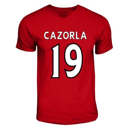 Santi Cazorla Arsenal Hero T-shirt (red)