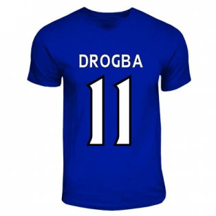 Didier Drogba Chelsea Hero T-shirt (royal Blue)