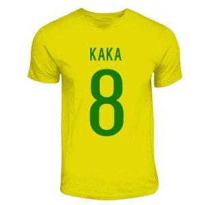 Kaka Brazil Hero T-shirt (yellow)