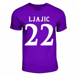 Adam Ljajic Fiorentina Hero T-shirt (purple)