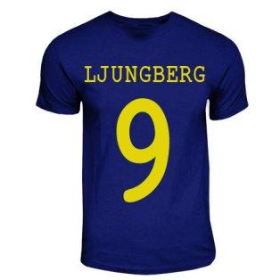 Freddie Ljungberg Sweden Hero T-shirt (navy)