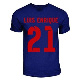Luis Enrique Barcelona Hero T-shirt (navy)