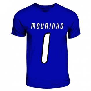 Jose Mourinho Porto Hero T-shirt (royal Blue)