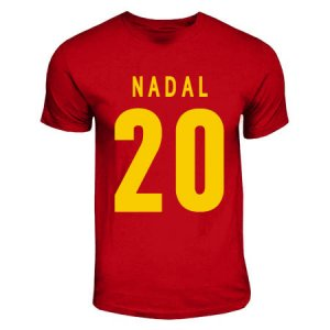 Miguel Angel Nadal Spain Hero T-shirt (red)