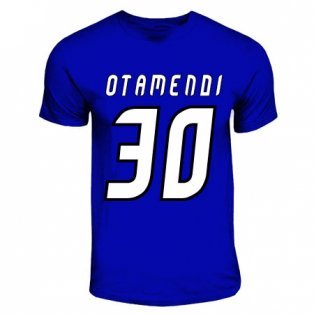 Nicolas Otamendi Porto Hero T-shirt (royal Blue)