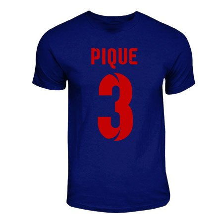 Gerard Pique Barcelona Hero T-shirt (navy)
