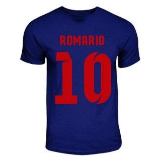 Romario Barcelona Hero T-shirt (navy)