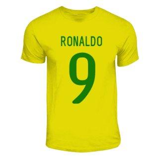 Ronaldo Brazil Hero T-shirt (yellow)