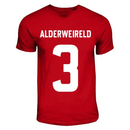 Toby Alderweireld Ajax Hero T-shirt (red)