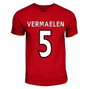 Thomas Vermaelen Arsenal Hero T-shirt (red)