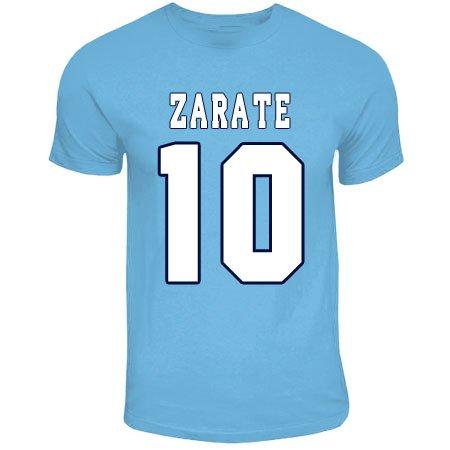 Mauro Zarate Lazio Hero T-shirt (sky Blue)