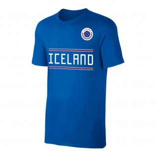 Iceland WC2018 \'Qualifiers\' t-shirt - Blue