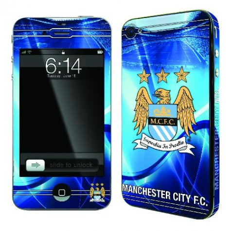 Official Man City iPhone 4 Skin