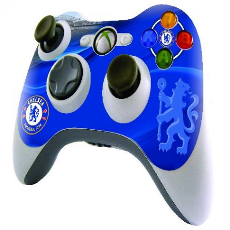 Official Chelsea XBOX 360 Controller Skin