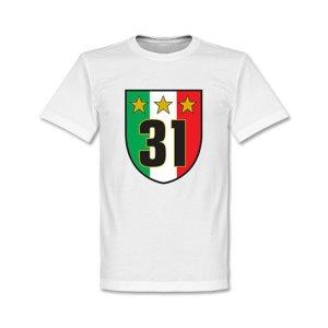Juventus Scudetto 31 Campione T-Shirt (White)