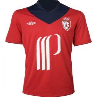 2012-13 Lille Umbro Home Football Shirt