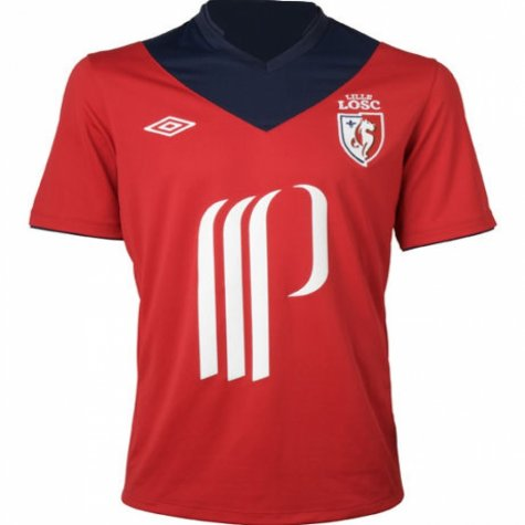 2012-13 Lille Umbro Home Football Shirt