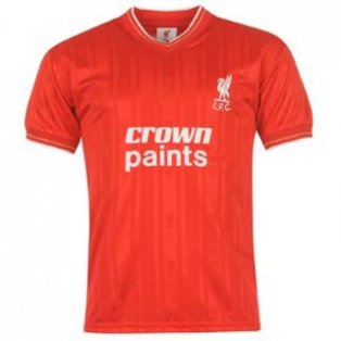 1986 Liverpool Home Crown Paints Shirt