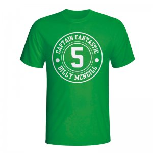 Billy Mcneil Celtic Captain Fantastic T-shirt (green) - Kids