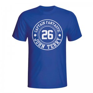 John Terry Chelsea Captain Fantastic T-shirt (blue) - Kids